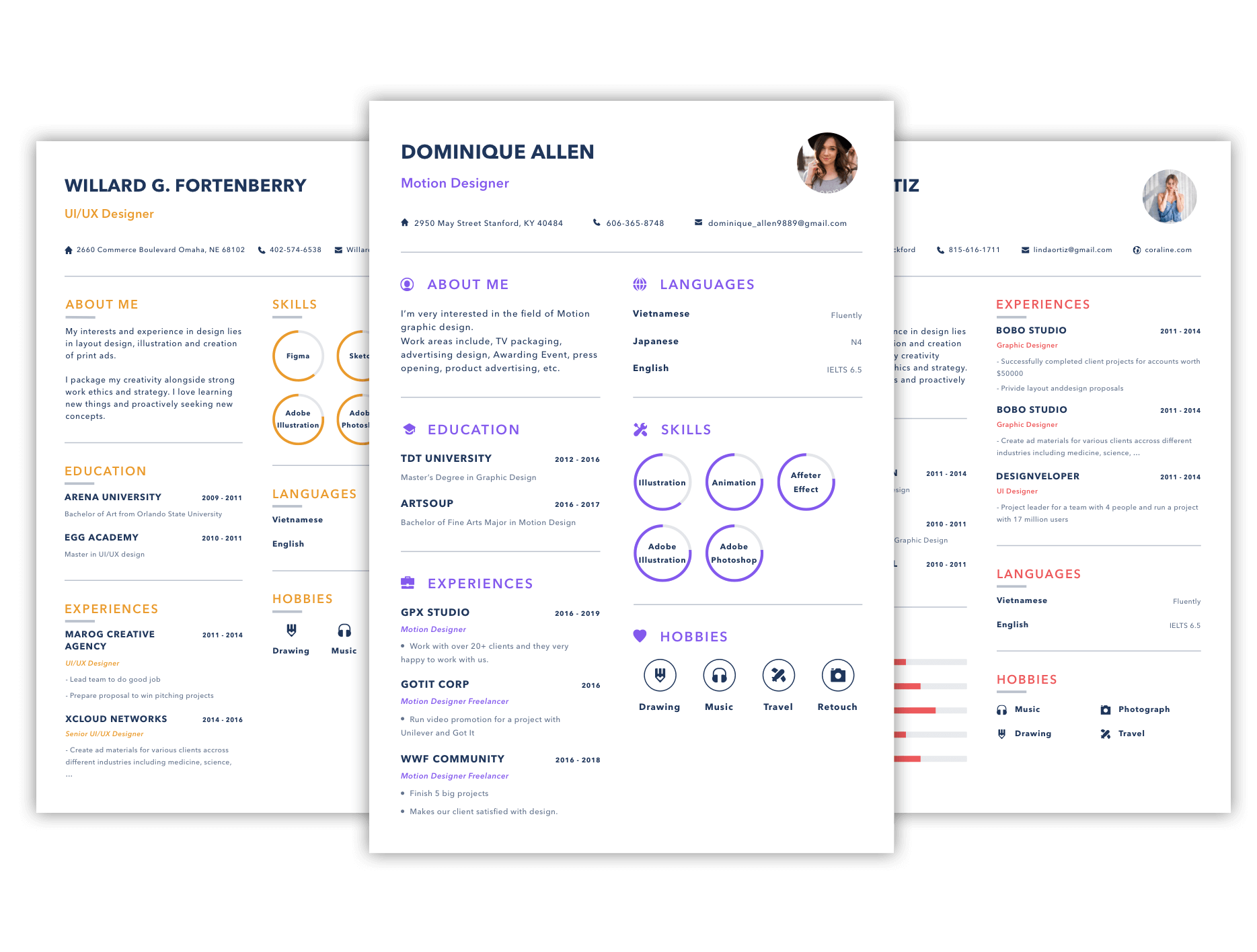Cv Simply Design Professional Resume Is Easy And Fast